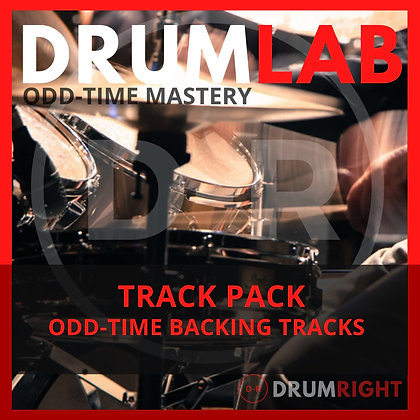 DrumLab TRACK PACK - Odd Time Backing Tracks