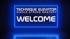 Technique Elevator - Single Stroke Maste
