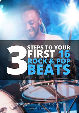 3 Steps To Your First 16 Pop&Rock Beats.