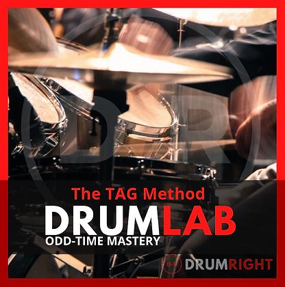 DrumLab - Odd-Time Mastery: The TAG Method