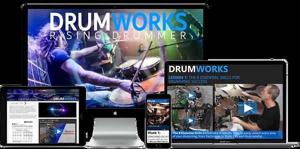DrumWorks Academy Apple MultiscreenV2.pn