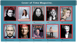 Do you know the faces of the Time Magazine? Picture Round