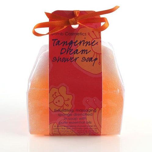 Tangerine Dream Shower Soap Sponge