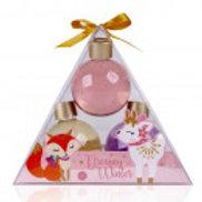DREAMY WINTER gift box shower gel balls