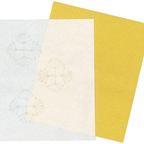 美濃和紙の懐紙(レースフラワー)