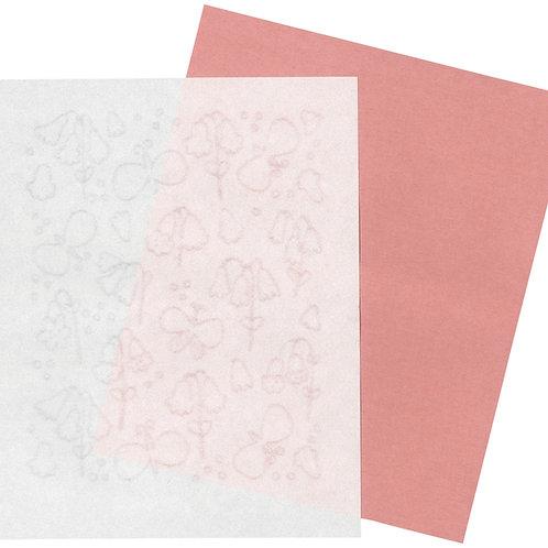 美濃和紙の懐紙(カウスリップの花)