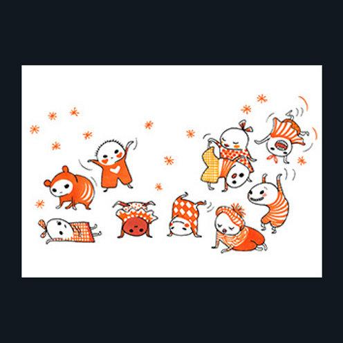 """ポスター:Brokiga """"Orange"""""""