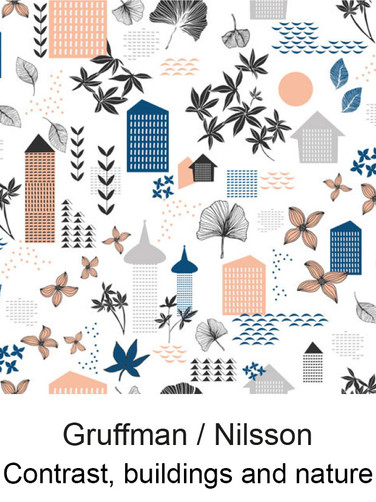 江戸更紗デザイン Gruffman & Nilsson