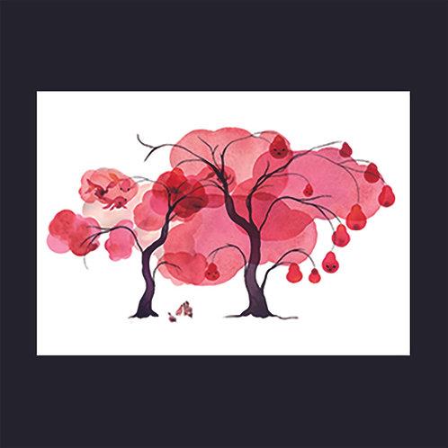 "Stina Wirsen ""Red Tree"""