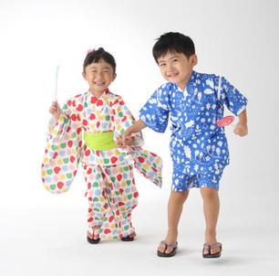 子ども浴衣&甚平(近江屋株式会社)