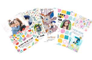 北欧デザイナーによる年賀状やポストカード