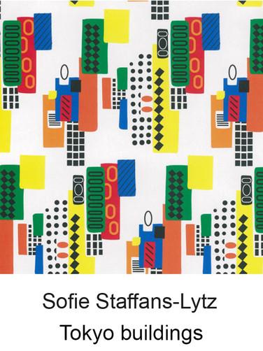 江戸更紗デザイン Sofie Staffans-Lytz