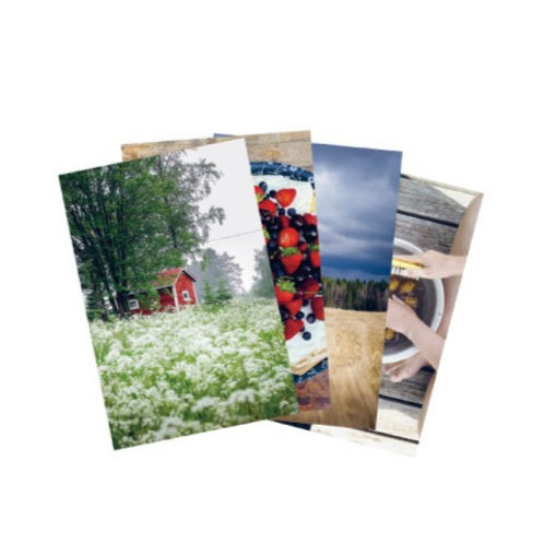 Anna ja Liisa フィンランド西海岸の写真ポストカード