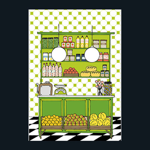 """Anneli Ohlsson """"Old grocery store"""""""