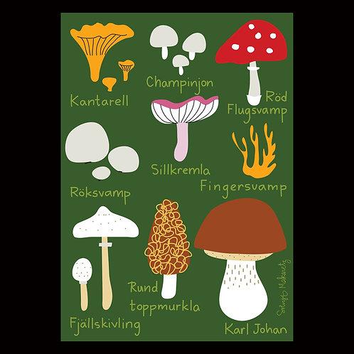 """Solvejg Makaretz """"Mushrooms"""""""