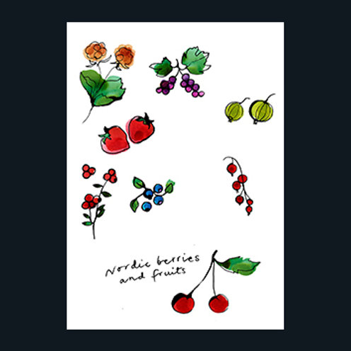"""Stina Wirsén """"Nordic berries and fruits"""""""