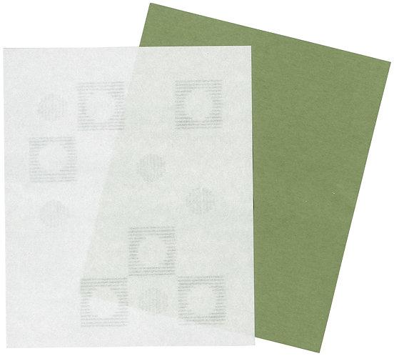 美濃和紙の懐紙(広い森でベリー摘み)