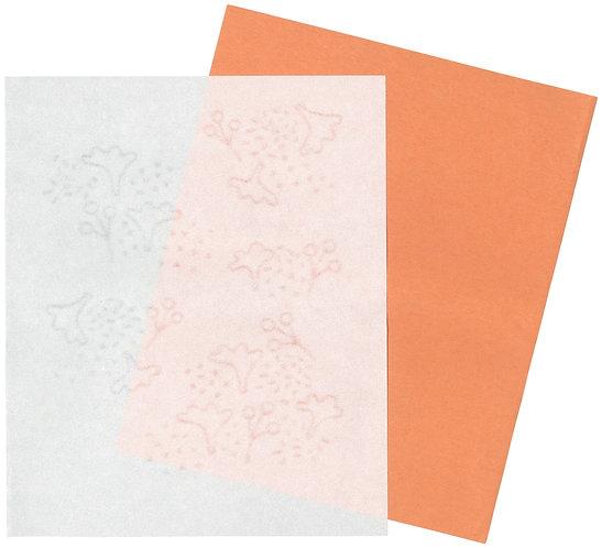 美濃和紙の懐紙(カンタレーラの森)