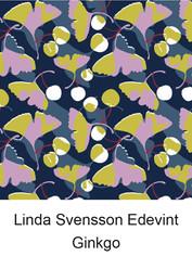 江戸更紗デザイン Linda Svensson Edevint