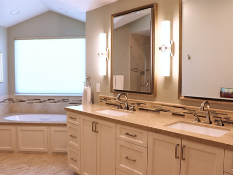 Before and After Master Bath