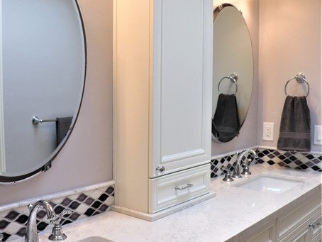 Four Bathroom Remodels, One House