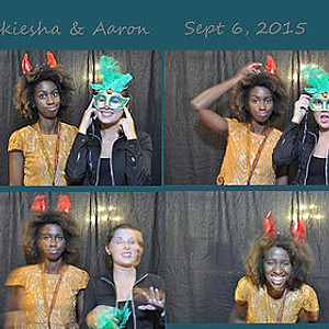 NEKIESHA AND AARON'S WEDDING