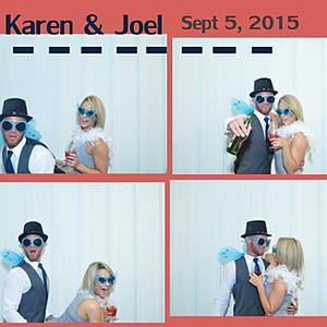 KAREN AND JOEL'S WEDDING