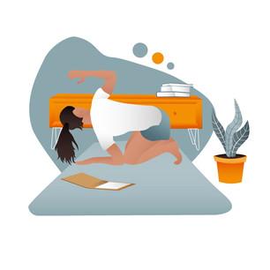 Digitale Illustration - PhysioAktivPraxi