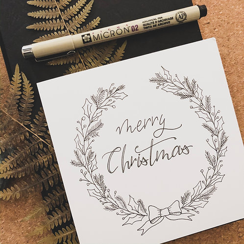 Brushlettering Christmas - Special in Wien