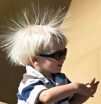 National Static Electricity Day:  Shocking!