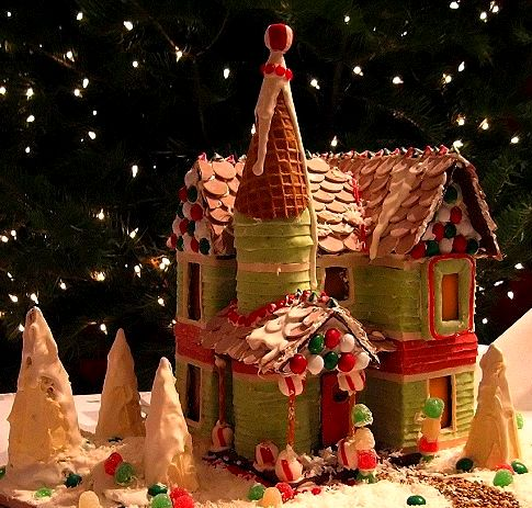 Free Gingerbread House Patterns Templates Holidailys Holidays