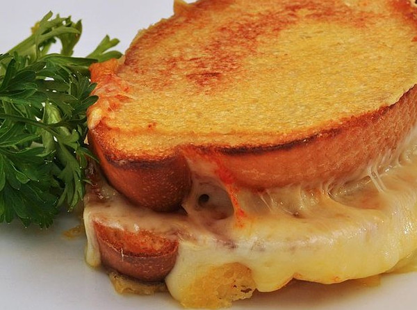 National Grilled Cheese Sandwich Day:  Enjoy an ooey gooey gourmet grilled cheese 'wich