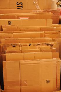 Kartons wiederverwenden
