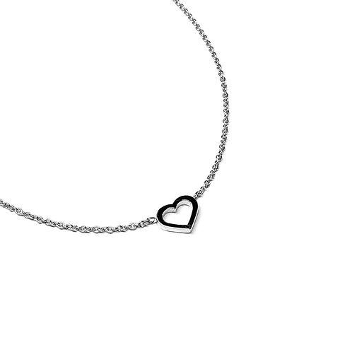 Herzkette aus Silber