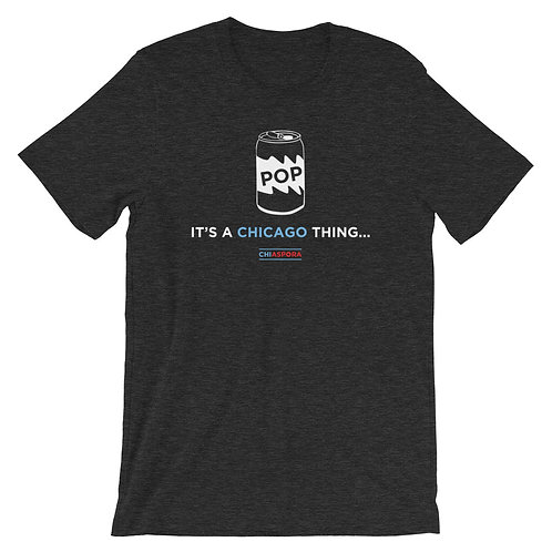 "CHIASPORA ""It's A Chicago Thing: Can of Pop"" T-Shirt"