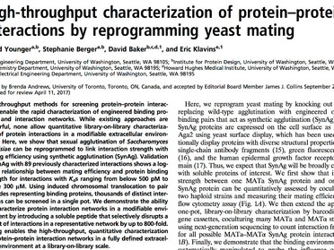 AlphaSeq paper published in PNAS!