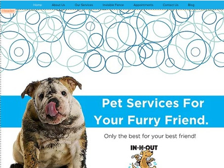 IN N OUT DOG WASH gets a new website!