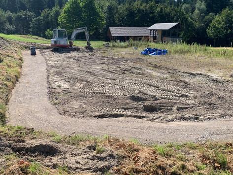 Umbau Beachsoccer-Anlage