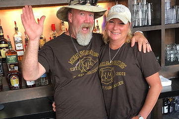 Clint Caskey Gayla Caskey denton restaurant owners