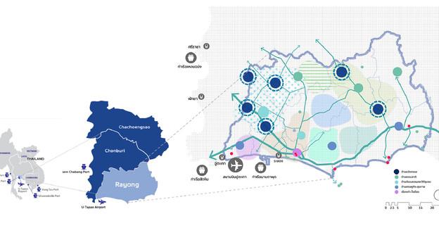 โครงการระยอง 2040 พลิกโอกาส ฟื้นใจเมืองระยอง (Rayong Old Town Regeneration)