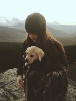 lab puppy military blogger dog mom