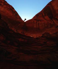 rock climbing photographer couples