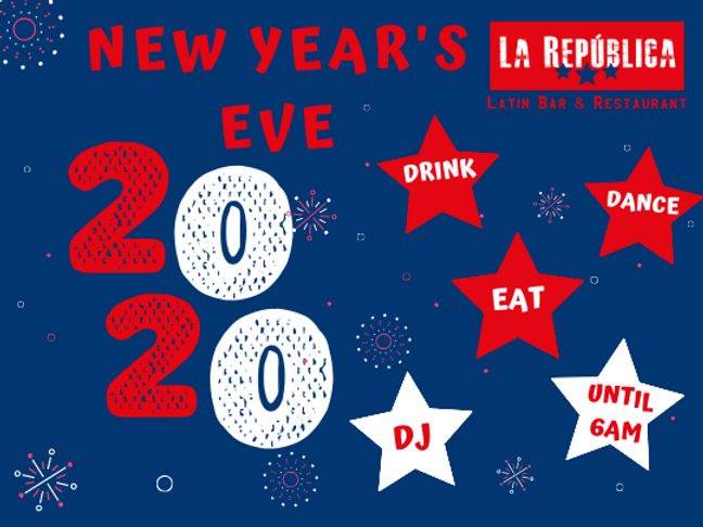 latin new years eve party fin de ano dominicano