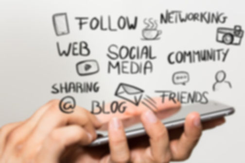 Blog, social medi,