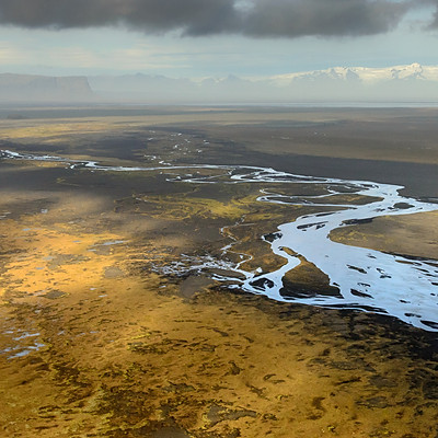 Iceland from the sky