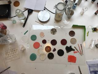 Bio Plastic experiments.JPG