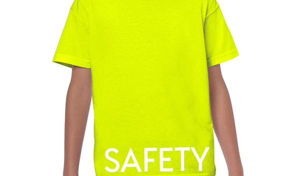 SAFETY GREEN Youth T-shirts
