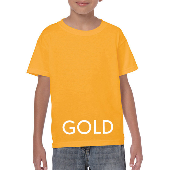 GOLD Youth T-shirts