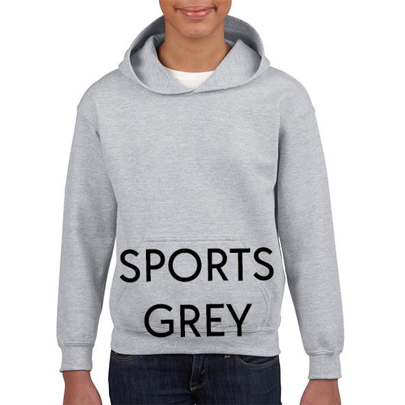 SPORTS GREY Youth Hoodies
