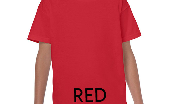 RED Youth T-shirts